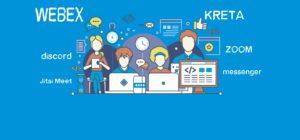 digitális oktatás, kommunikáció
