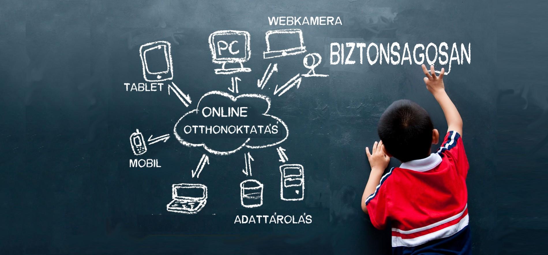 digitális oktatás, digitális család, internet biztonságosan