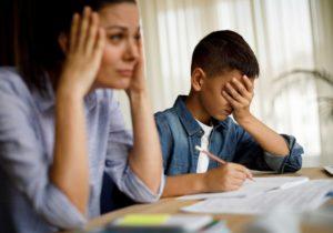digitális otthon oktatás stressz csökkentés