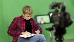gyerekek jogai, videófelvétel a tesi óráról