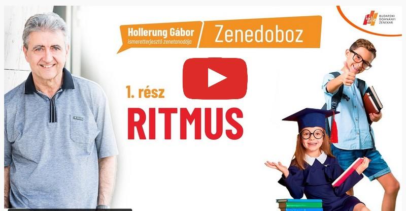 Hollerung Gábor - Zenedoboz online közveítés