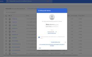 Google Classroom felhasználó létrehozása
